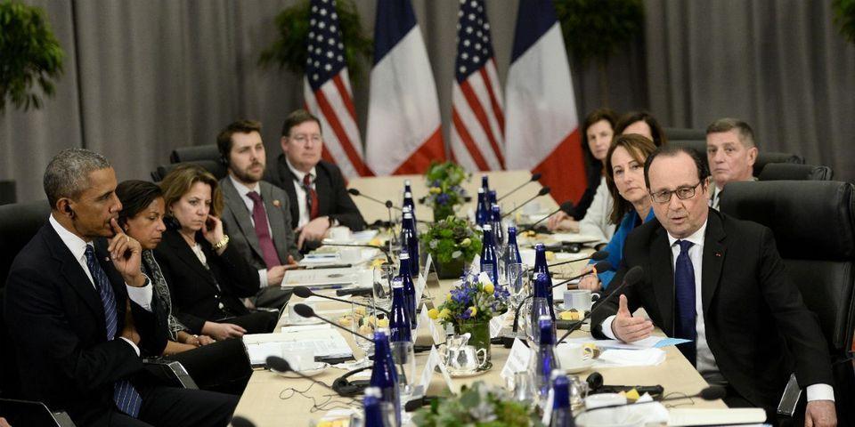 """VIDÉOS - La Maison-Blanche coupe la traduction de François Hollande quand il parle de """"terrorisme islamiste"""""""