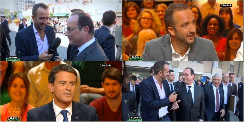 VIDÉOS - Manuel Valls et François Hollande, fans de Cyrille Eldin