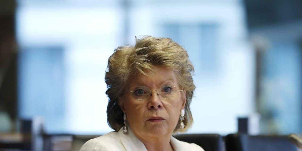 """Pour Viviane Reding, comparé à la France, """"le Luxembourg est un paradis de stabilité"""""""