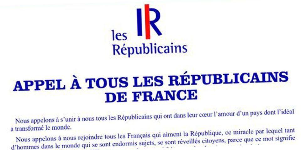 """Voilà, c'est officiel : l'UMP s'appelle désormais """"Les Républicains"""""""