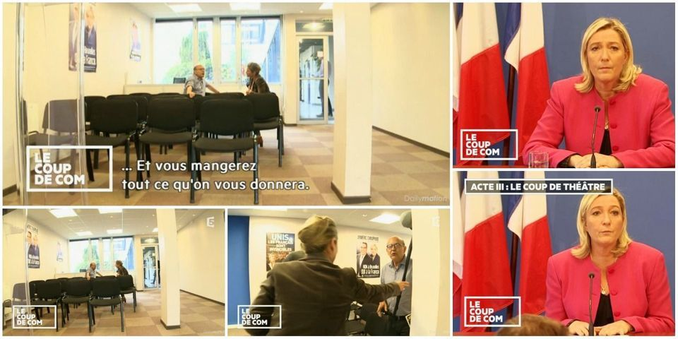 """""""Vous mangerez tout ce qu'on vous donnera"""" : la stratégie médiatique du FN expliquée par le chef de cabinet de Marine Le Pen, Philippe Martel"""