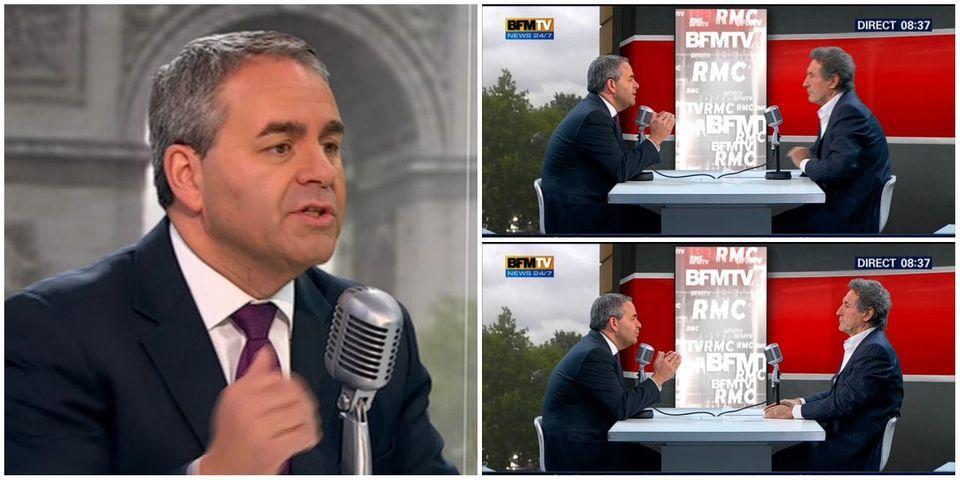 """Xavier Bertrand demande """"une consultation des adhérents UMP"""" sur la loi Taubira"""
