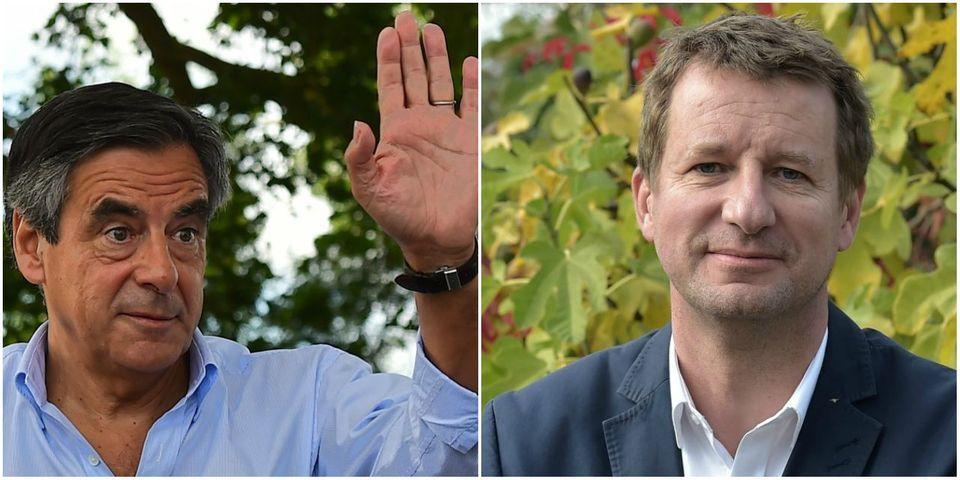 """Yannick Jadot attaque François Fillon sur son activité de consultant qui lui permet de quadrupler """"son indemnité parlementaire"""""""