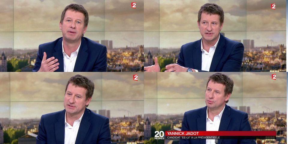 Yannick Jadot retire sa candidature à la présidentielle au profit de Benoît Hamon et appelle Jean-Luc Mélenchon à l'imiter
